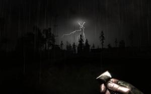 Burza nocą